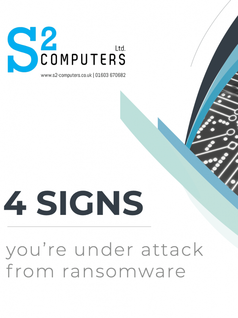s2 computers norwich norfolk it business specialists it service ransomware attack